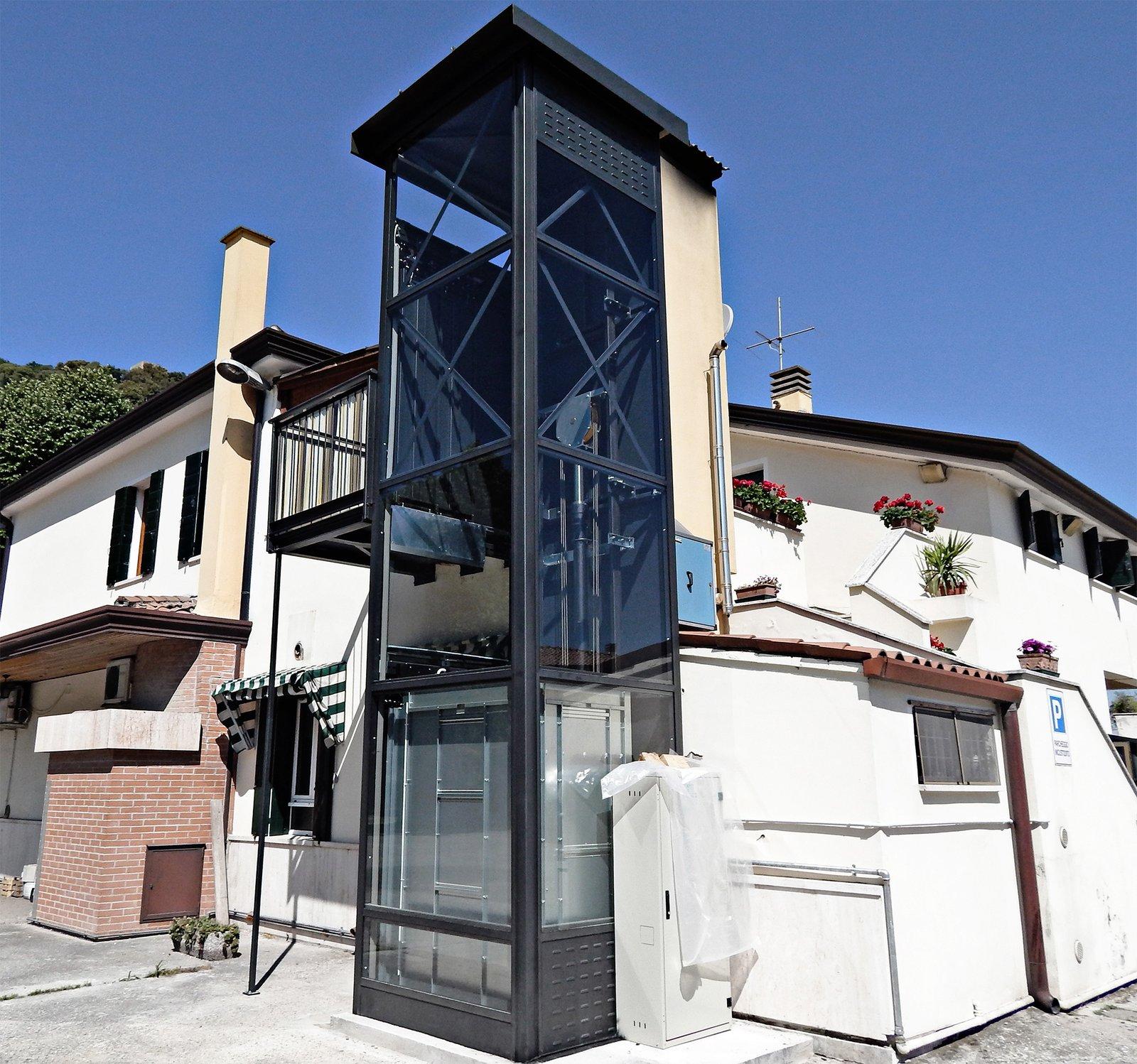 installazione ascensore esterno a monselice